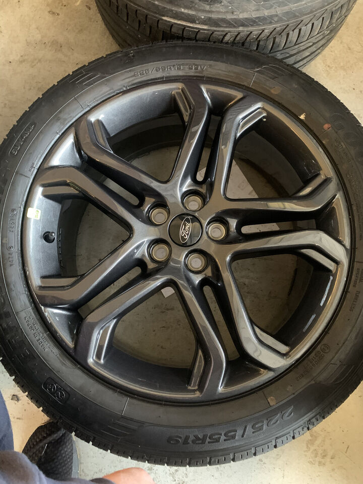 """4 stk Originale 19"""" Ford Kuga fælge med Goodyea..."""
