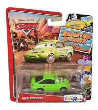 NICK STICKERS Disney Pixar Cars Radiator Springs Classic Toys R Us Exclusive NIP