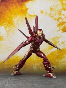 S-H-Figuarts-Avengers-Infinity-War-IRON-MAN-MARK-50-NANO-WEAPON-SET-BANDAI-NEW