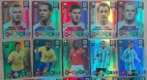 Panini-Adrenalyn-XL-World-Cup-WM-2010-Alle-20-limitierte-limited-RAR