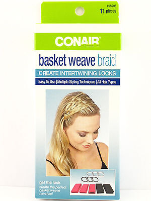 CONAIR BASKET WEAVE BRAID - 11 PIECE KIT  (55903)