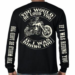 Image is loading Mens-Biker-T-Shirt-Motorcycle-034-You-Would- bcae6d524