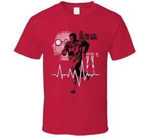 c056b32dac2 Six Million Dollar Man 70s TV Classic Lee Majors Fan T Shirt