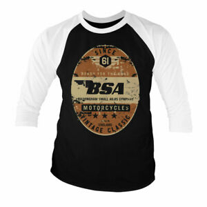 NEW /& OFFICIAL Free postage various sizes BSA Motorcycles T Shirt
