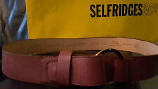 Liz Claiborne Genuine Leather Belt. Ring Buckle. Brown. Size (L) Large. Buy New.