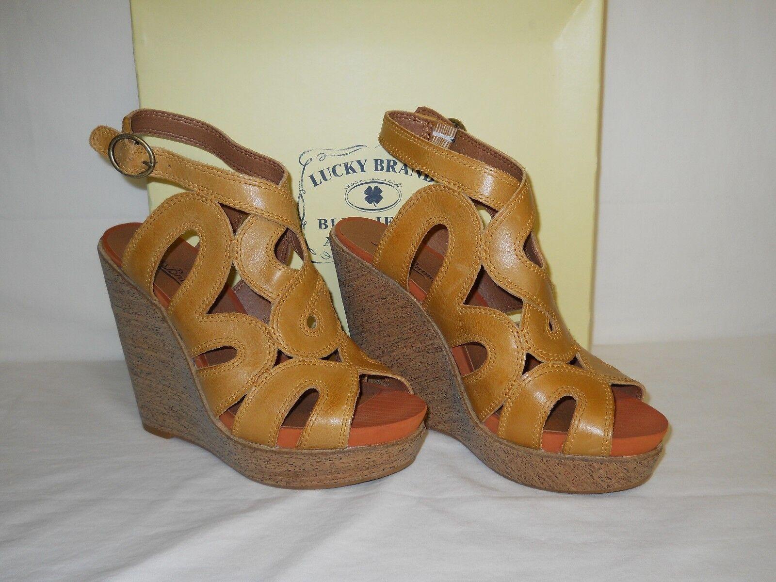 Lucky Brand New Damenschuhe Penrose Penrose Penrose Wedge Heels 9.5 M Schuhes NWB de273c