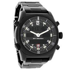 NEW Luminox SR-71 Blackbird Mens Digital Black Finish Swiss Quartz Watch A.9042
