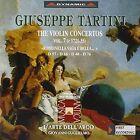Giuseppe Tartini: The Violin Concertos, Vol. 7 (CD, Feb-2001, Dynamic (not USA))