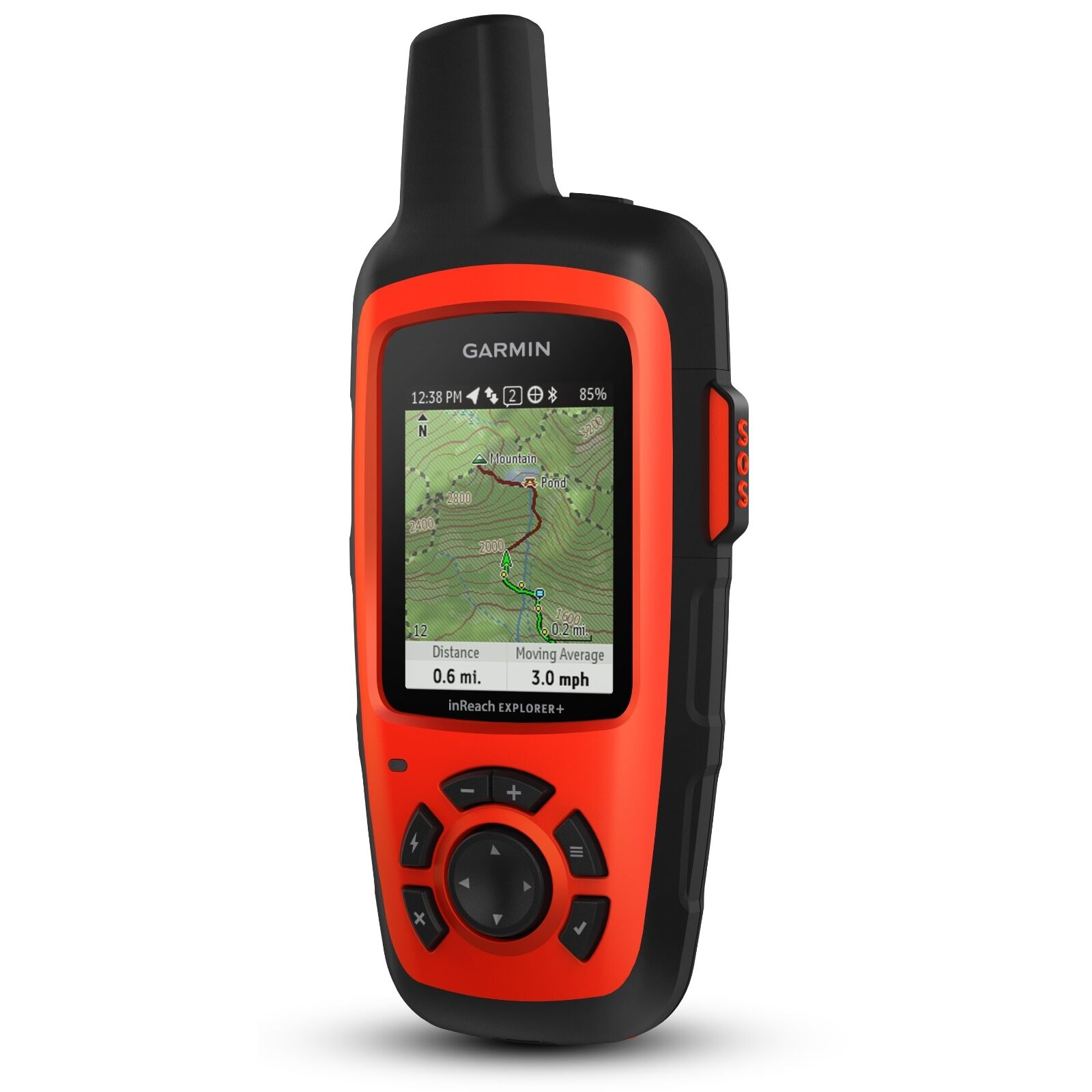 Garmin inReach Explorer+ Handheld Satellite Communicator w  GPS 010-01735-10
