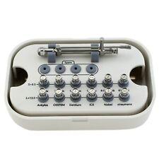 Dental Implant Universal Prosthetic Kit Torque Wrench 10 70ncm Ratchet Drivers
