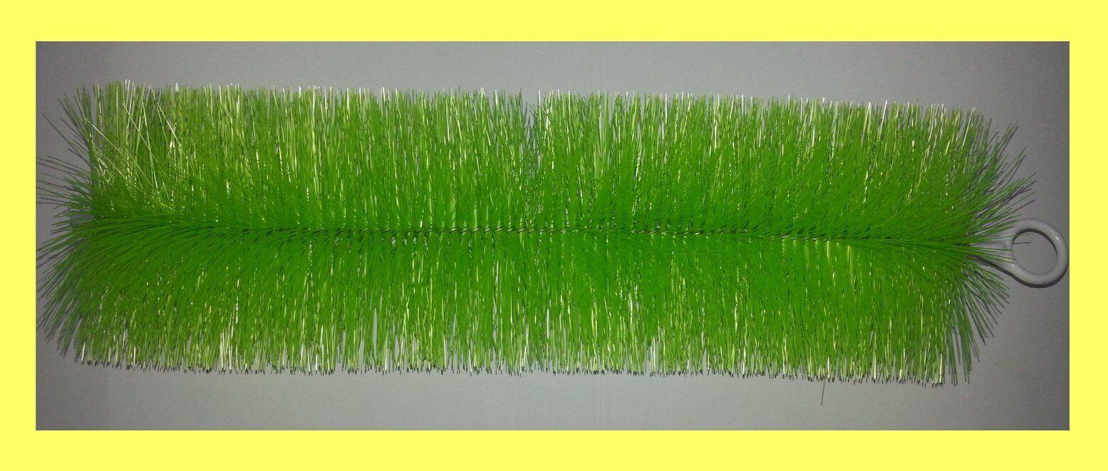 10 PEZZI FILTRO SPAZZOLA verde sottili 80 cm di lunghezza stagno Spazzola koiteich Stagno Filtro