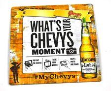 Corona Extra Cerveza Bier Posavasos de Base EE.UU. Coaster Chevys Moment Marco