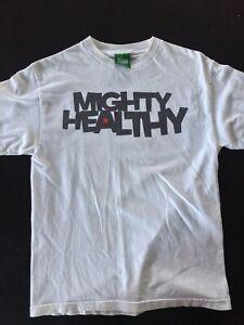 Early-2000s-Mighty-Healthy-3m-Print-Shirt-Rare-Vintage-Medium-Hundreds-Diamond