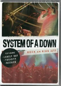 System-Of-A-Down-DVD-Rock-Am-Ring-2011-Brand-New-Sealed