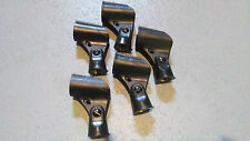 5 Pack of Microphone Stand Mount Holder Clip for Shure SM58 SM57 BETA 58A Mics