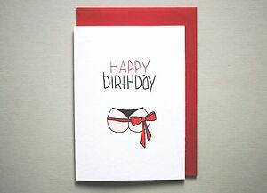 Funny happy birthday card for him boyfriend husband handmade image is loading funny happy birthday card for him boyfriend husband bookmarktalkfo Gallery