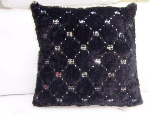 Luxury Cushion Covers only 18 x 18 inch 45 x 45 cm Montana Sequin green wine red