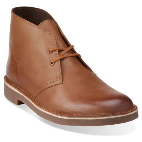 Clarks Bushacre 2 Men/'s Leather Desert Chukka Boots Medium Dress Boots