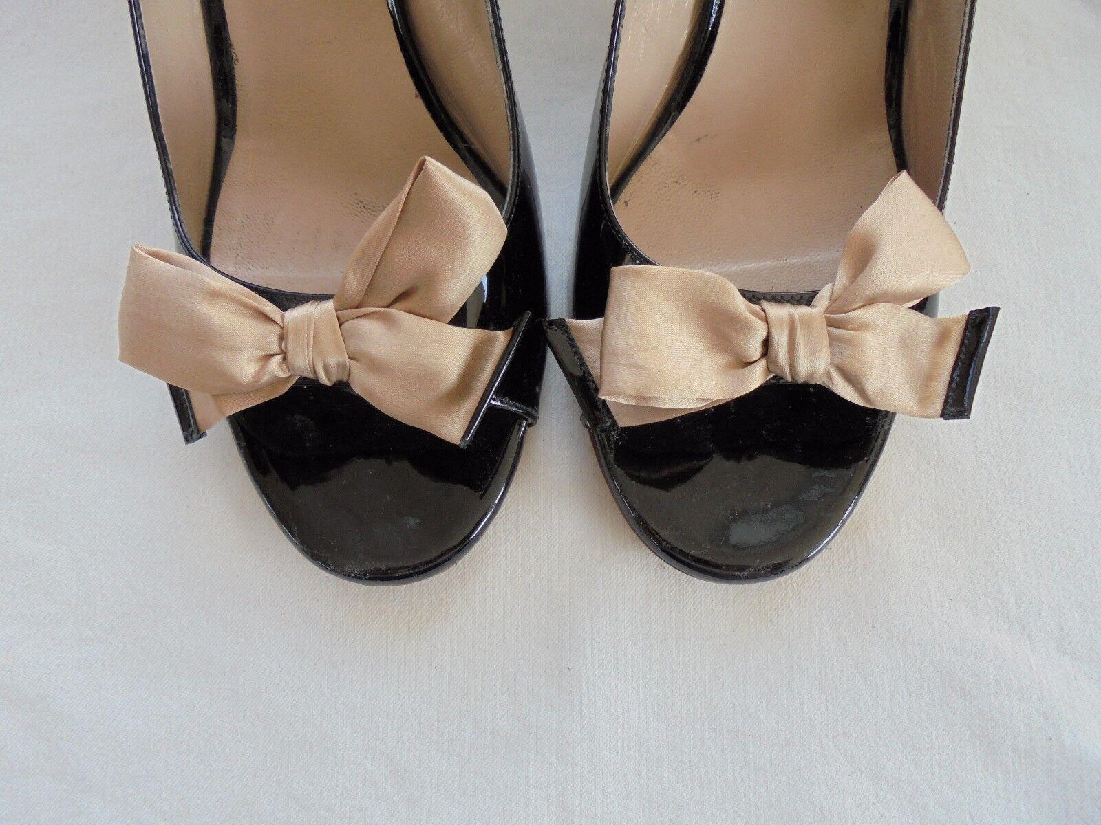 L'Autre Chose Lackleder Sandaletten Schuhe NP  + OVP Schuhe Sandaletten Pumps Gr. 40 691a70