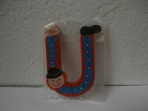 Lettere Di Legno Sevi : Lettera u alfabeto legno sevi pagliaccio letter alphabet wooden