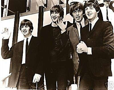 The Beatles Come To America John Lennon Paul McCartney Ringo George Harrison WOW