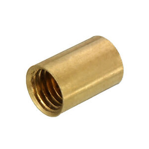 2pcs-Pool-Billiard-Snooker-Screw-on-Cue-Tip-Replacement-Brass-Ferrules-10mm-New
