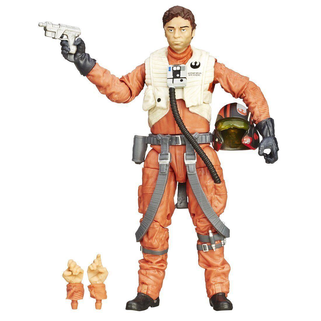 Takara Tomy Star Wars Schwarze Serie 15.2cm Figur Poe Dameron Japan Offiziell  | Spielzeug mit kindlichen Herzen herstellen