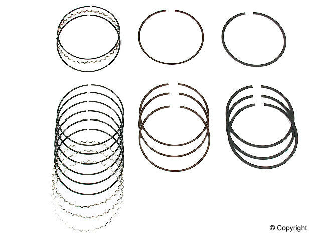 Npr Engine Piston Ring Set Fits 1985 1995 Toyota 4runner Pickup