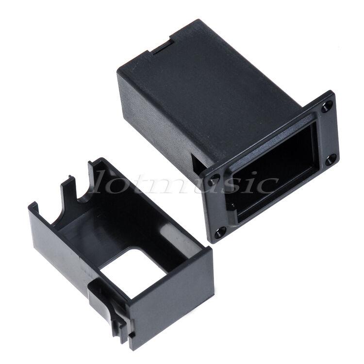 guitar battery holder case box 9v for guitar bass active pickup preamp amp ebay. Black Bedroom Furniture Sets. Home Design Ideas