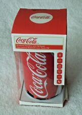 Coca Cola COKE-SPKCAN-C Mini Portable Bluetooth Lautsprecher rot//wei/ß