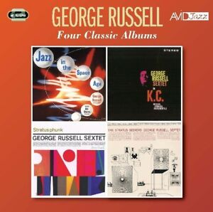 George-Russel-FOUR-CLASSIC-ALBUMS-2-CD-NEU