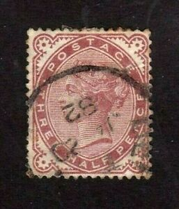 Great-Britain-stamp-80-used-Queen-Victoria-SCV-50