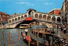 Italy Venezia The Rialto Bridge, Puente, bruche