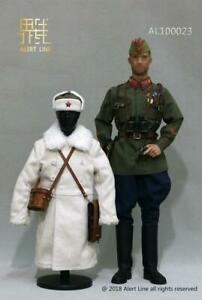 WWII Red Army Lt Officer AL100023 Boots 1//6 Scale Alert Line Figures