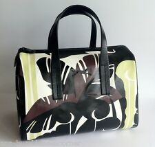 BIMBA Y LOLA Special Print Edition LEATHER+PVC 'Jungle' Satchel Bag Handbag NWT
