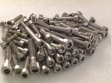 DUCATI 748 916 996 Engine Covers 130pc Stainless Socket Capscrew Allen Bolts Kit