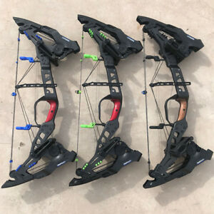 32-034-KRYSIS-21-5lbs-80lbs-Compound-Bow-Archery-Steel-Ball-Hunting-Slingshot