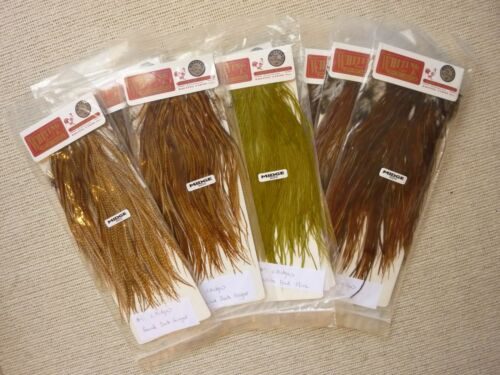 Fly Tying Overstock Clean-up ~ Choose from Packs~ Whiting Bronze Rooster Saddle