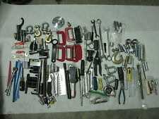48 Lb Of Tools Sockets Wrenches Screwdrivers Clamps Hitch Ball Etc Huge Lot