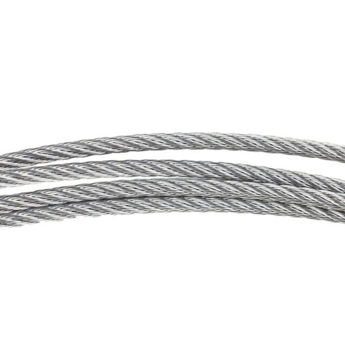 5M 304 Stainless Steel soft  Wire Rope Soft Fishing Lifting Cable Clothesline CP