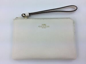 dd5d3cc38d0d Image is loading New-Authentic-Coach-F58032-Crossgrain-Leather-Corner-Zip-