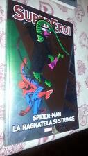 GAZZETTA SPORT-SuperEroi-Leggende Marvel # 26 Spider-Man La Ragnatela si Stringe