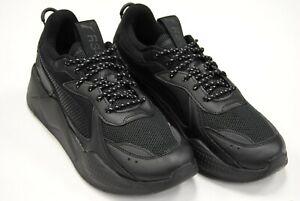 Details about [369666 02] NEW MEN'S PUMA RS-X CORE PUMA BLACK TRIPLE BLACK  PM16