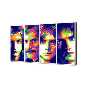 FREDDIE MERCURY QUEEN CANVAS PRINT PICTURE MODERN WALL ART FREE FAST DELIVERY