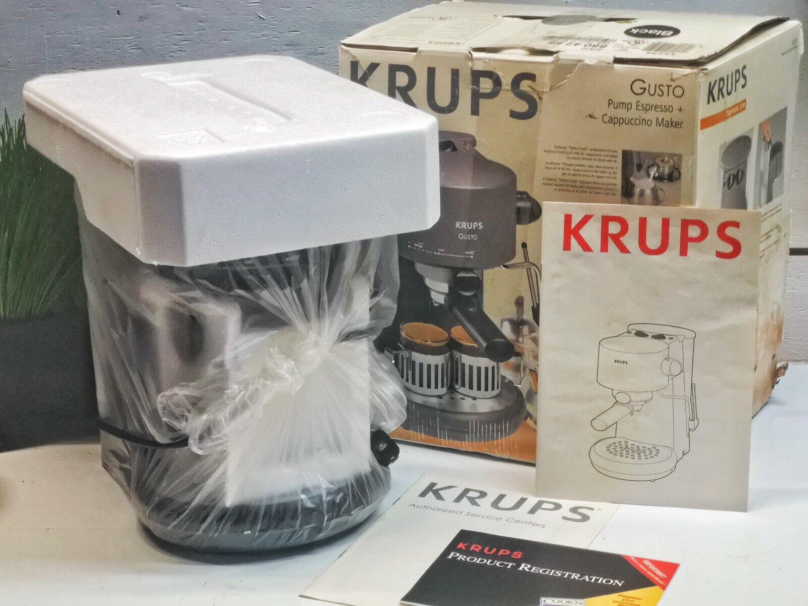 Krups F 880 42 Vivo schwarz Espressoautomat
