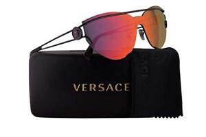 43eb9076b9 Versace VE 2186 14156Q Violet Brown Mirror Orange Sunglasses 57mm ...