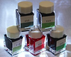 NIB-Sailor-INK-KOUBOU-Fountain-pen-039-s-Ink-Bottle-20ml-You-Choose-from-100-Colors