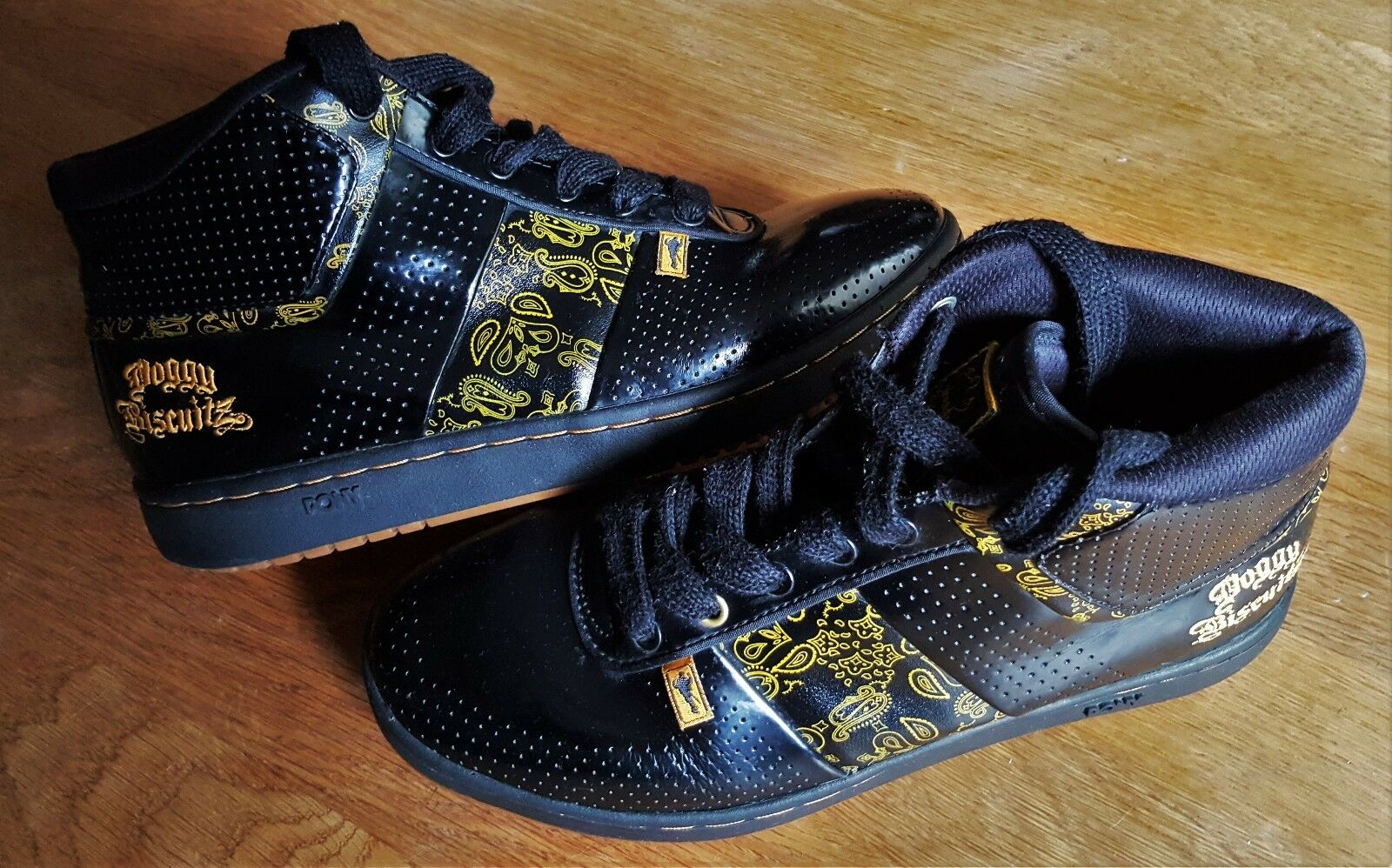 SNOOP DOGG DOGGY BISCUITZ SNEAKERS Uomo SHOES HIP HOP RaRe 2006 !!!