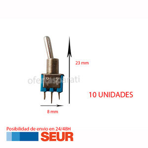 10X-Mini-Interruptor-de-Palanca-3-PIN-Azul-SPDT-ON-OFF-3A