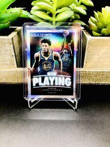 2020-21 Panini NBA Hoops JAMES WISEMAN Now Playing Holo RC Rookie SS-2 WARRIORS